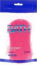 Parfums et Produits cosmétiques Eponge de bain, rose - Suavipiel Microfiber Bath Sponge Extra Soft
