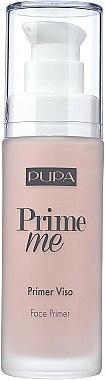 Base de teint perfectrice pour le visage - Pupa Prime Me Perfecting Face Primer