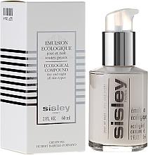 Parfums et Produits cosmétiques Émulsion à l'extrait de romarin et ginseng pour visage - Sisley Emulsion Ecologique Ecological Compound