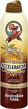 Parfums et Produits cosmétiques Spray accélérateur de bronzage - Australian Gold Dark Tanning Accelerator Continuous Spray With Instant Bronzer
