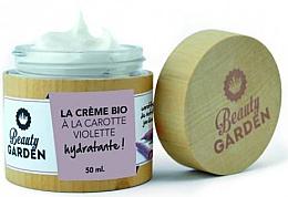 Parfums et Produits cosmétiques Crème bio à la carotte violette pour visage - Beauty Garden Violet Carrot Face Cream