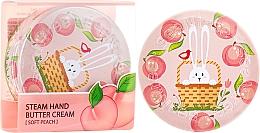 Parfums et Produits cosmétiques Crème nourrissante à la pêche pour mains - SeaNtree Steam Hand Butter Cream Soft Peach Bunny