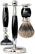Parfums et Produits cosmétiques Coffret cadeau - Taylor of Old Bond Street Mach3 (razor/1szt + sh/brush/1szt + stand/1szt)