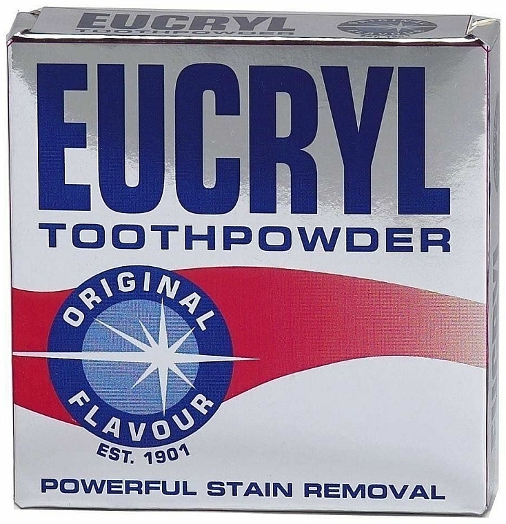 Poudre dentaire - Eucryl Toothpowder Original