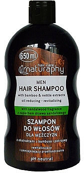 Shampooing à l'extrait d'ortie et bambou - Bluxcosmetics Naturaphy Bamboo & Nettle Extracts Man Shampoo