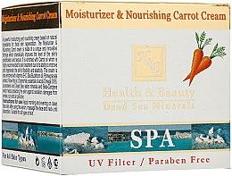 Parfums et Produits cosmétiques Crème à l'huile de carotte pour visage - Health and Beauty Moisturizer & Nourishing Carrot Cream