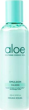 Émulsion à l'aloe vera pour visage - Holika Holika Aloe Soothing Essence 90% Emulsion Calming