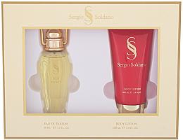 Parfums et Produits cosmétiques Sergio Soldano Via Venty - Set (eau de parfum/50ml + lotion corporelle/100ml)