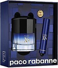 Parfums et Produits cosmétiques Paco Rabanne Pure XS - Coffret (eau de toilette/50ml + eau de toilette/10ml)