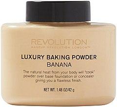 Parfums et Produits cosmétiques Poudre banane libre minérale - Makeup Revolution Luxury Banana Powder