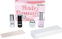 Parfums et Produits cosmétiques NeoNail Professional Baby Boomer Set - Kit (top coat/7,2ml + base coat/7,2ml + gel/5ml + gomme/12ml + éponge/25pc + bâtonnets/10pc)