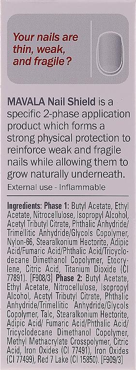 Soin protecteur bi-phasé pour ongles - Mavala Nail Shield — Photo N4