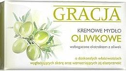Parfums et Produits cosmétiques Savon crème à l'huile d'olive - Gracja Olive Cream Soap