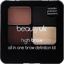 Parfums et Produits cosmétiques Palette à sourcils - Beauty UK High Brow and Eyebrow Kit