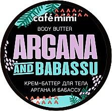 Parfums et Produits cosmétiques Crème-beurre corporelle Huile d'argan et de babassu - Cafe Mimi Body Butter Argana And Babassu
