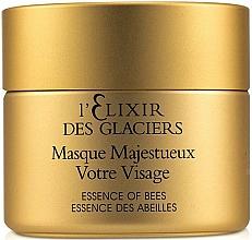 Parfums et Produits cosmétiques Masque au miel,propolis et gelée royale pour visage - Valmont L'elixir Des Glaciers Masque Majestueux Votre Visage