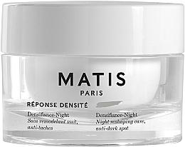Parfums et Produits cosmétiques Soin de nuit anti-taches pour visage - Matis Reponse Densite Densifiance-Night