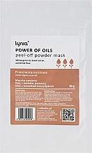 Parfums et Produits cosmétiques Masque peel-off à l'huile de germe de blé pour visage - Lynia Power Of Oil Peel Off Powder Mask