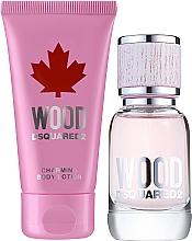 Parfums et Produits cosmétiques Dsquared2 Wood Pour Femme - Coffret (eau de toilette/30ml + lotion corporelle/50ml)