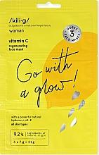 Parfums et Produits cosmétiques Masque à la vitamine C pour visage - Kili-g Revitalizing Face Mask