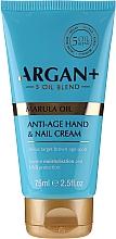 Parfums et Produits cosmétiques Crème anti-âge à l'huile de marula pour mains et ongles - Argan+ Anti Age Hand & Nail Cream