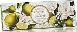 Parfums et Produits cosmétiques Coffret savons, Bergamote et Gardénia - Saponificio Artigianale Fiorentino Bergamot & Gardenia (3 x 100g)
