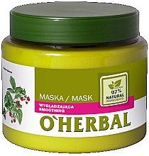 Parfums et Produits cosmétiques Masque cheveux lissant à l'extrait de framboise - O'Herbal