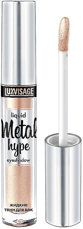 Fard à paupières liquide - Luxvisage Metal Hype Liquid Eyeshadow