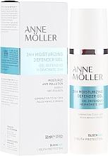 Parfums et Produits cosmétiques Gel matifiant pour visage - Anne Moller Blockage 24h Moisturizing Defender Gel