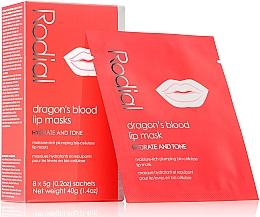 Parfums et Produits cosmétiques Masque à l'extrait de pivoine pour lèvres - Rodial Dragon's Blood Lip Masks