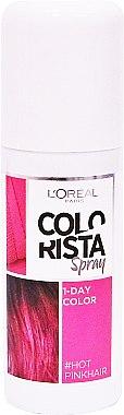 Spray de coloration temporaire pour cheveux - L'Oreal Paris Colorista Spray