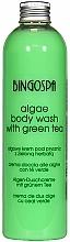 Parfums et Produits cosmétiques Gel douche énergisant aux algues marines et thé vert - BingoSpa Algae Energizing Body Wash Whit Green Tea