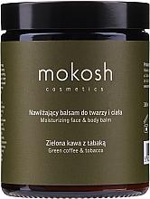 Parfums et Produits cosmétiques Mokosh Cosmetics - Set visage et corps, Café vert et Tabac