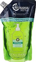 Parfums et Produits cosmétiques Shampooing purifiant à l'extrait de menthe poivrée (recharge) - L'Occitane Aromachologie Purifying Freshness Hair Shampoo