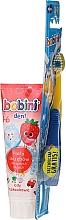 Parfums et Produits cosmétiques Set pour enfants 1-6 ans: dentifrice + brosse à dents souple - Bobini (brosse à dents + dentifrice/75ml)