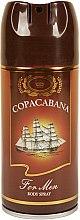 Parfums et Produits cosmétiques Jean Marc Copacabana - Déodorant spray parfumé pour corps