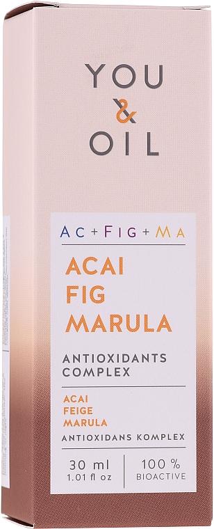Sérum bio à l'huile de tournesol pour visage - You & Oil Acai Fig Marula — Photo N1