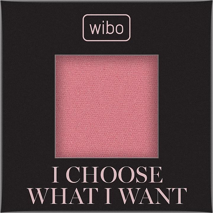 Blush (recharge) - Wibo I Choose What I Want Blusher