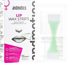 Parfums et Produits cosmétiques Bandes de cire pour contour de la bouche - Andmetics Lip Wax Strips Women (bandes de cire/8x2pcs + lingettes apaisantes/4pcs)