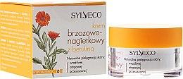 Parfums et Produits cosmétiques Crème hypoallergénique à l'extrait de calendula pour visage - Sylveco Birch And Marigold Day Cream With Betulin