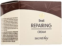 Parfums et Produits cosmétiques Crème à la bave d'escargot pour visage - Secret Key Snail + EGF Repairing Cream