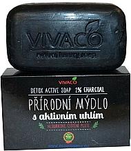 Parfums et Produits cosmétiques Savon naturel au charbon actif - Vivaco