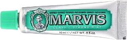 Parfums et Produits cosmétiques Dentifrice - Marvis Classic Strong Mint (mini)