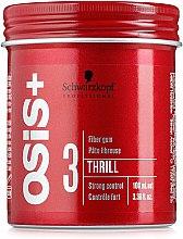 Parfums et Produits cosmétiques Gomme capillaire fibreuse - Schwarzkopf Professional Osis+ Thrill Texture Fibre Gum