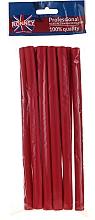 Parfums et Produits cosmétiques Bigoudis mousse flexibles 12/210 mm, rouges - Ronney Professional Flex Rollers