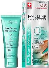 Parfums et Produits cosmétiques CC crème apaisante et hydratante - Eveline Cosmetics Therapy