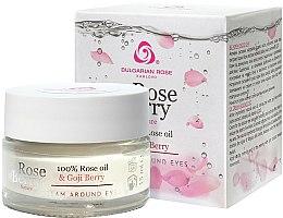 Parfums et Produits cosmétiques Crème à la rose bulgare et baies de goji pour contour des yeux - Bulgarian Rose Rose Berry Nature Cream Around Eyes
