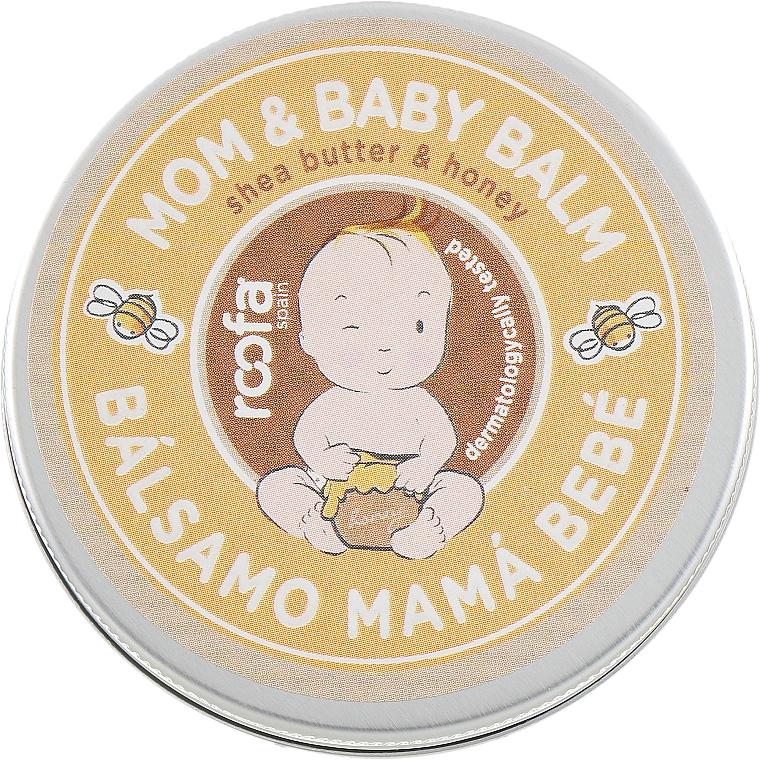 Baume au beurre de karité et miel - Roofa Shea Butter & Honey Mom & Baby Balm