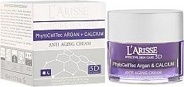 Parfums et Produits cosmétiques Crème de jour et nuit aux cellules souches d'argan et calcium - Ava Laboratorium L'Arisse 5D Anti-Wrinkle Cream Stem PhytoCellTech Argan + Calcium