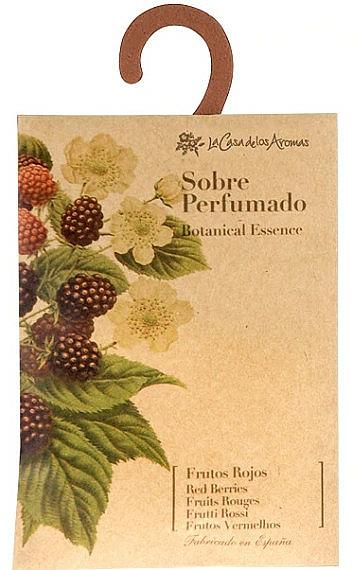 Sachet parfumé, Fruits rouges - La Casa de Los Botanical Essence Red Berries Scented Sachet